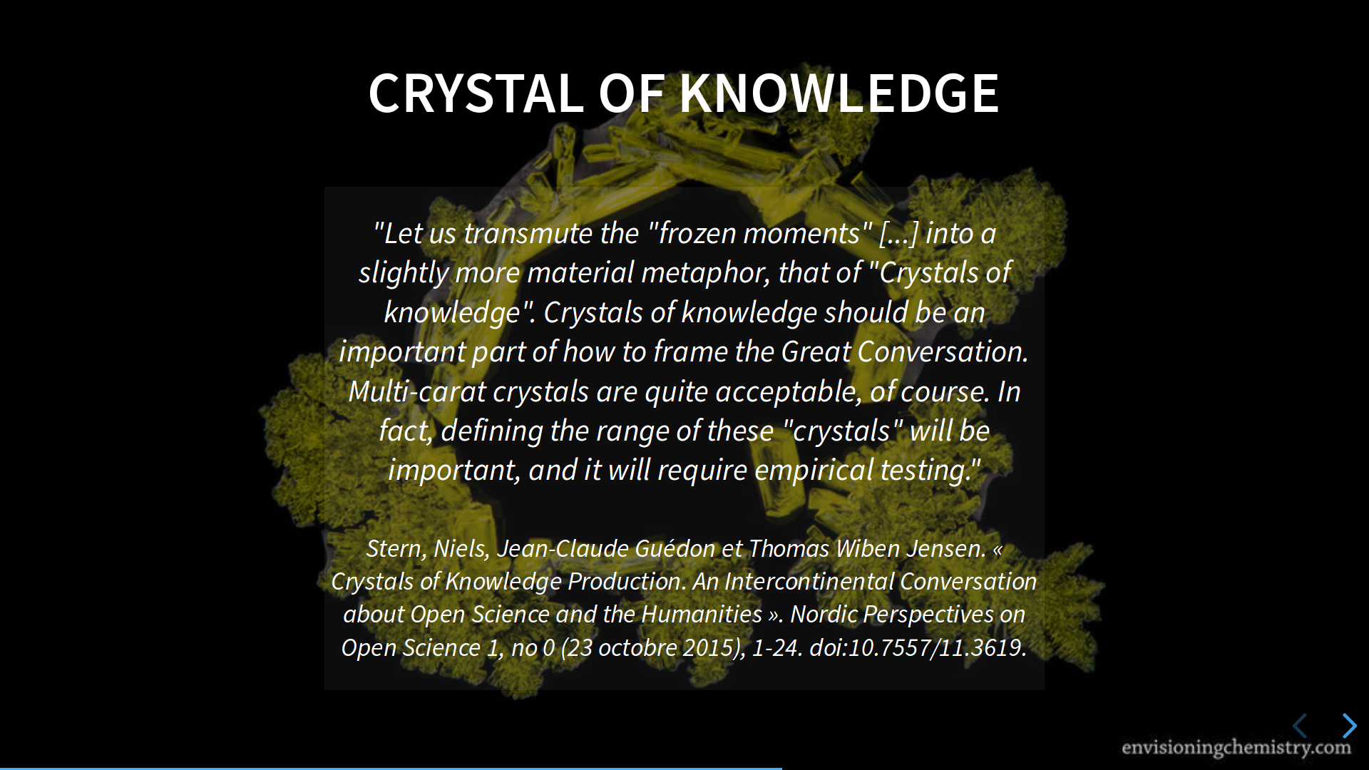Slide5 - Crystal of knowledge